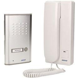 Zestaw domofonowy jednorodzinny FOSSA biały/ srebny OR-DOM-RL-901 Orno