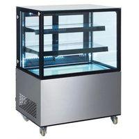 Szafy i witryny chłodnicze, Hendi Witryna chłodnicza 2-półkowa 410 l - kod Product ID