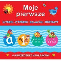 Książki dla dzieci, Moje pierwsze: Literki, Cyferki,Szlaczki, Kształty - Praca zbiorowa