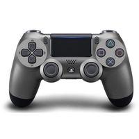 Gamepady, Kontroler SONY DualShock 4 V2 Stalowy + DARMOWY TRANSPORT!
