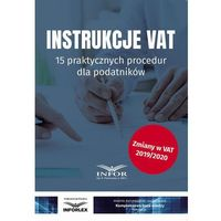 E-booki, Instrukcje VAT.15 praktycznych procedur dla podatników