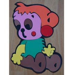 Obrazek - dekoracja na ścianę Małpka - średni