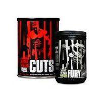 Redukcja tkanki tłuszczowej, Universal Nutrition Animal Cuts + Animal Fury 42pack+80g