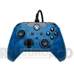 PDP Pad przewodowy Xbox Series (camo niebieski)