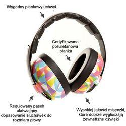 Słuchawki ochronne nauszniki dzieci 0-3lat BANZ - Kaleidoscope