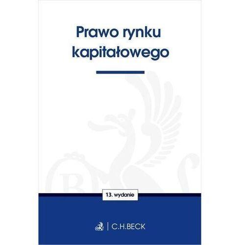 Książki prawnicze i akty prawne, Prawo rynku kapitałowego (opr. miękka)
