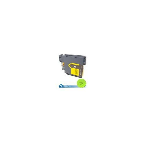 Tusze do drukarek, Tusz Brother 980/1100 LC Yellow 15ml (LC980/1100 Y)