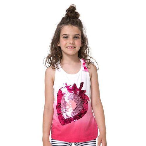 Podkoszulki dziecięce, Desigual podkoszulek dziewczęcy Whitehorse 152 wielokolorowy - BEZPŁATNY ODBIÓR: WROCŁAW!