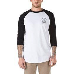 koszulka VANS - Rattlesnake Hill Raglan White-Black (YB2) rozmiar: XXL
