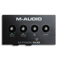 Pozostały sprzęt estradowy, M-Audio M-Track DUO interfejs audio USB
