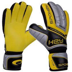 Rękawice bramkarskie SPOKEY Touch (rozmiar 10) Żółty