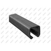 Przęsła i elementy ogrodzenia, Profil do bramy przesuwnej Fe, 42x54x2,5mm, L3m