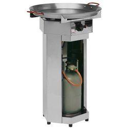 Grill gazowy FIESTA | śr. 600mm | 4,8kW | 600x600x(H)870mm