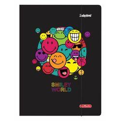 Teczka z gumką A4 rysunkowa Smiley.World HERLITZ - Rainbow Faces