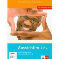 Książki do nauki języka, Aussichten A2.2 Kurs- Und Arbeitsbuch Z Płytą Cd I Dvd (opr. miękka)