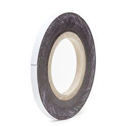 Magnetyczna tablica magazynowa, białe, rolka, wys. 10 mm, dł. rolki 10 m. Zapewn