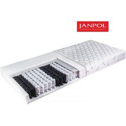 JANPOL WENUS - materac kieszeniowy, sprężynowy, Rozmiar - 160x200, Twardość - twardy, Pokrowiec - Medicott Silverguard WYPRZEDAŻ, WYSYŁKA GRATIS
