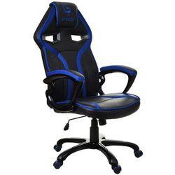 Fotel biurowy GIOSEDIO czarno-niebieski,model GPR048