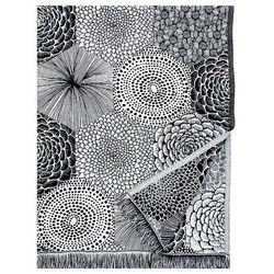 Narzuta-obrus Lapuan Kankurit Ruut black 140x240 cm
