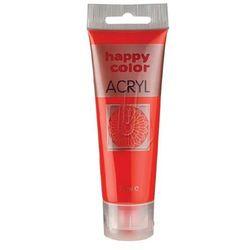 Farba akrylowa 75 ml jasnoczerwona fluo Happy Color