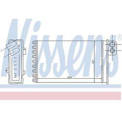 Wymiennik ciepła, ogrzewanie wnętrza NISSENS 71152