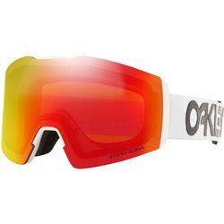 Oakley Fall Line XM Gogle zimowe, factory pilot white/prizm snow torch 2020 Gogle narciarskie