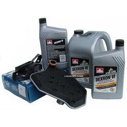 Filtr oraz olej Dextron-VI automatycznej skrzyni biegów 4R70W Lincoln Town Car