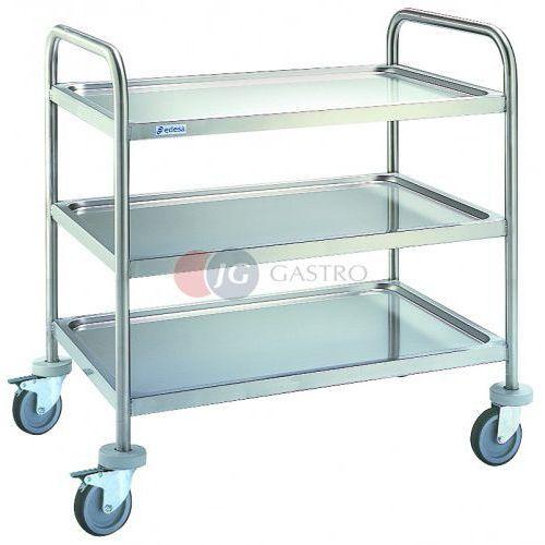 Wózki na żywność, Wózek kelnerski 3-półkowy CER-1063
