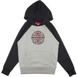 bluza INDEPENDENT - Youth ITC Bauhaus Raglan Hood Black/Heather Grey (BLACK-HEATHER GREY) rozmiar: 1