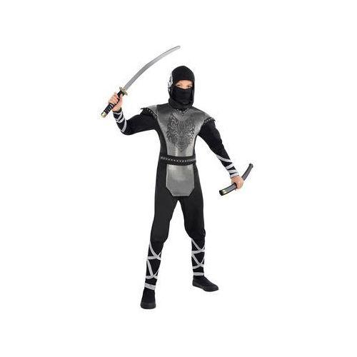 Przebrania dziecięce, Kostium Wilczy ninja dla chłopca - 12/14 lat (162)