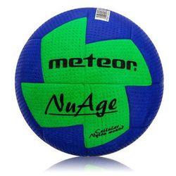Piłka ręczna Meteor NuAge niebieska rozmiar 2