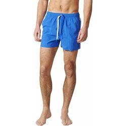 Adidas kapielówki 3Sa Short Vsl Blue/White L
