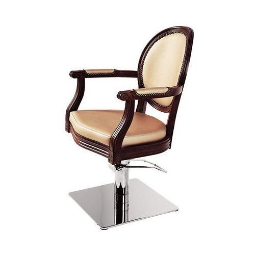 Meble fryzjerskie, Ayala Royal 01 fotel fryzjerski na pompie hydraulicznej z możliwością wyboru podstawy