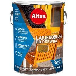 ALTAX- lakierobejca do drewna, orzech, 5 l