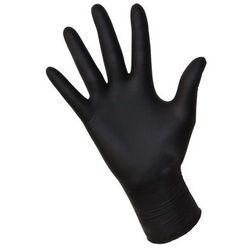 Rękawiczki jednorazowe bezpudrowe | nitrylowe | rozmiar S | 100szt