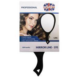RONNEY Professional Mirror Line 195 - Profesjonalne lusterko z rączką 195 (RA 00195)