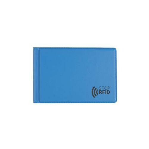 Zeszyty, Etui antykradzieżowe karty zbliżeniowe 6 kart RFID - niebieski