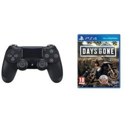 Kontroler bezprzewodowy SONY PlayStation DUALSHOCK 4 v2 Czarny + Days Gone