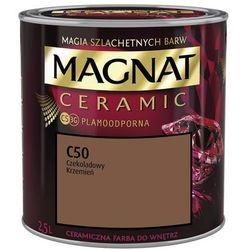 Farba Ceramiczna Magnat Ceramic C50 Czekoladowy Krzemień 2.5l
