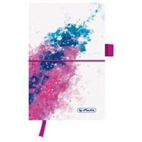 Notesy, Notes Herlitz my.book flash Splash Pink 50003303 A5/96k. linia