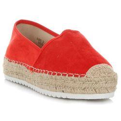 Uniwersalne Buty Damskie Espadryle na co dzień marki Marquiz Czerwone (kolory)