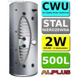 Bojler JOULE Cyclone 500L 2-wężownice 2W nierdzewka wymiennik podgrzewacz CWU Wysyłka GRATIS