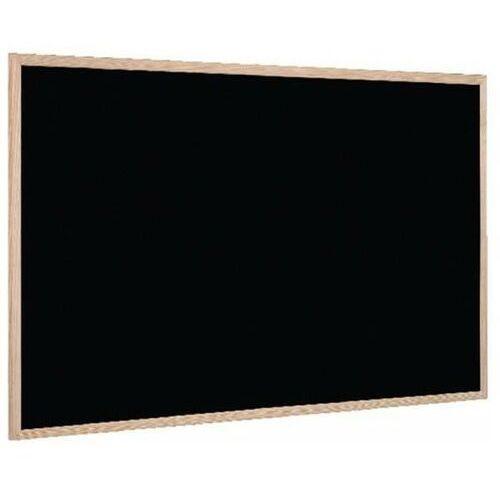 Tablice szkolne, Tablica kredowa BI-OFFICE 90x60cm rama drewniana