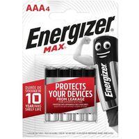 Baterie, Bateria alkaliczna MAX AAA E92 4 SZT. ENERGIZER
