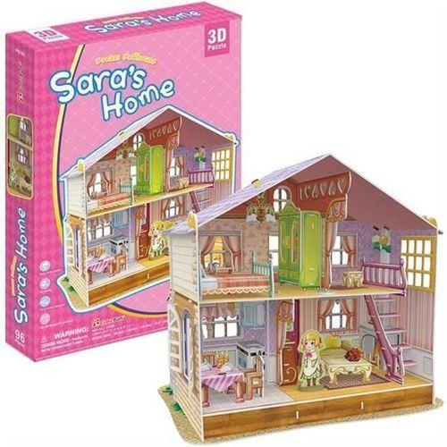 Domki dla lalek, PUZZLE 3D Domek dla lalek Sara