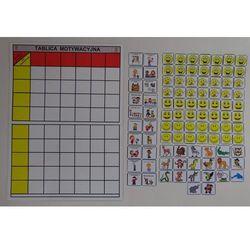 Tablica motywacyjna dla grupy przedszkolnej ( 9 osobowa)