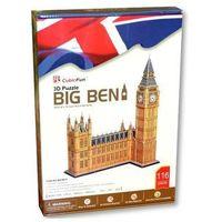 Puzzle, Cubic Fun, puzzle 3D Zegar Big Ben