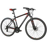 Pozostałe rowery, Rower INDIANA Cross 2.0 M21 Czarno-Czerwony | 5 LAT GWARANCJI NA RAMĘ DARMOWY TRANSPORT