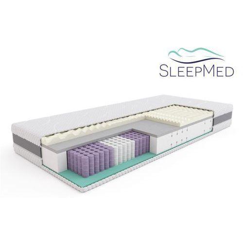 Materace, SLEEPMED SUPREME - materac termoelastyczny, piankowy, Rozmiar - 160x200 WYPRZEDAŻ, WYSYŁKA GRATIS