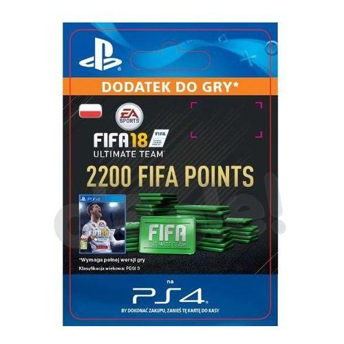 Kody i karty przedpłacone, FIFA 18 2200 Punktów [kod aktywacyjny]